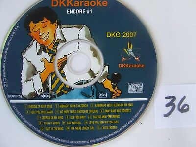DK Karaoke DKG 2007 Millennium Encore #1 Excellent Condition