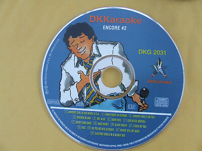 DK Karaoke DKG 2031 Millennium Encore #2 Excellent Condition