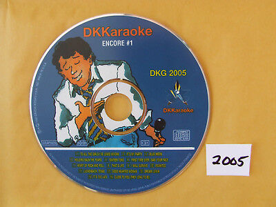 DK Karaoke DKG 2005 Millennium Encore #1 Excellent Condition