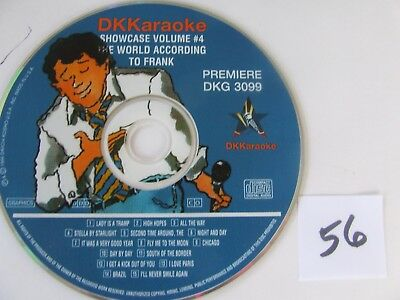 DK Karaoke DKG 3099 Premier World According To Frank