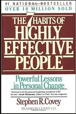 The 7 Habits of Highly Effective People by Stephen R. Covey (PDF book, 2013)