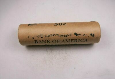 (1) Preformed Penny Cent Roll/Tube - Crimped End - Bank Of America San Francisco