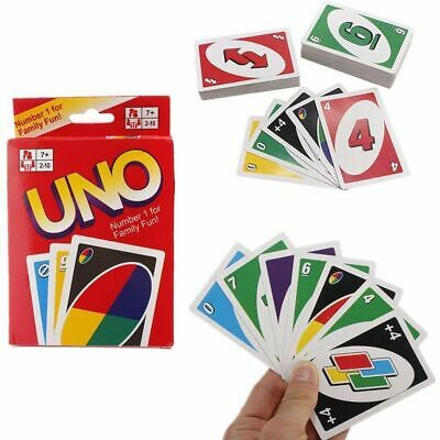 Uno Card Game 108 Playing Cards Indoor Family Children Friends Party Fun