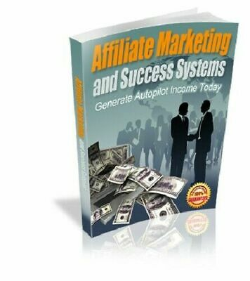 Affiliate Marketing and Success Systems eBook PDF with Full Master Resell Rights