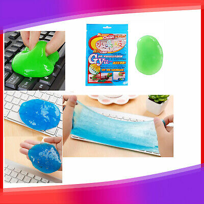 Keyboard Dust Removal Glue Car Air Conditioner Outlet Cleaning Mud Clay JO