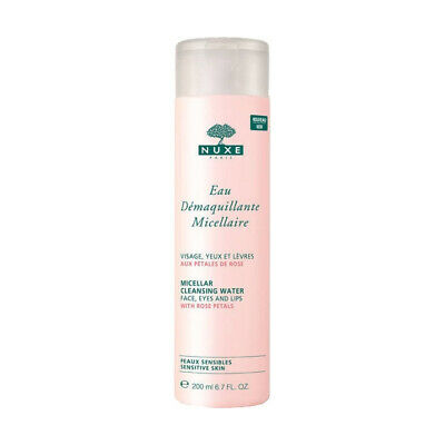 Make-Up Removal Water Pétales De Rose Nuxe 200 ml