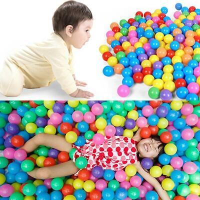 1/50/100pcs Swim Fun Colorful Soft Plastic Ocean Ball Secure Baby Kid Pit Toy