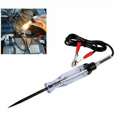 6/12V DC System Long Probe Continuity Test Light Car Voltage Circuit Tester Tool