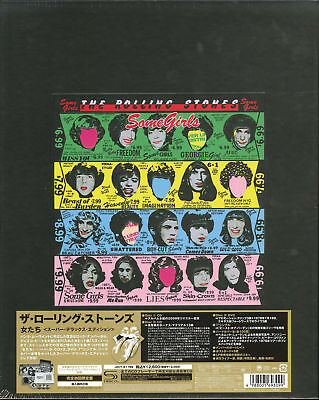 THE ROLLING STONES-SOME...-JAPAN 2 SHM-CD+DVD+7INCH VINYL+BOOK...Ltd/Ed AE50
