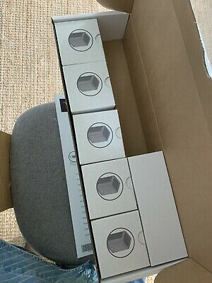 5x Bose Virtually Invisible Cube Speakers