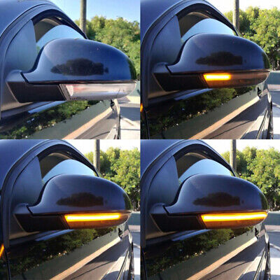 1 Pair Dynamic Flowing Wing Mirror Led Indicator Turn Signal Light For Golf  JMD