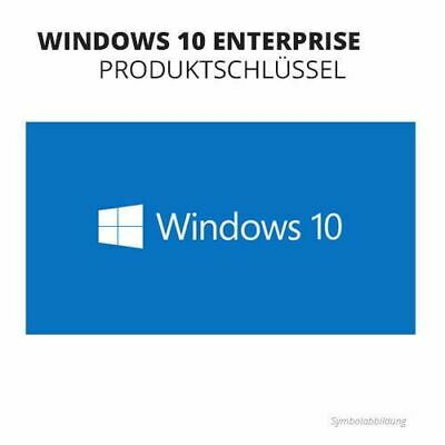 Microsoft Windows 10 Enterprise (Normale Standard Version 2015) Key Download Win