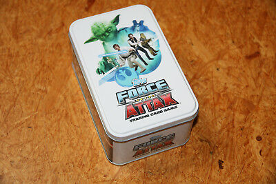 TOPPS STAR WARS - Force Attax Trading Cards Tin Dose/Blechdose (3)