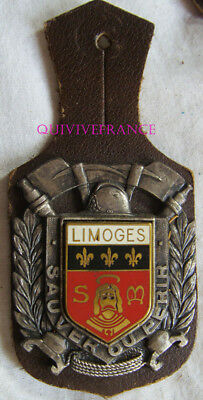 IN11564 - INSIGNE Sapeurs Pompiers  LIMOGES, 87