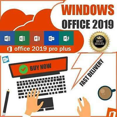 MICROSOFT OFFICE 2019 Professional PRO plus 32/64 official source