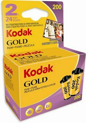 Kodak Gold 200/24 2 Films Mhd / Expiry Date 05/2019 Expires Soon