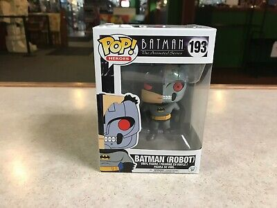 Funko POP! NIB DC Batman Animated Series BATMAN ROBOT #193