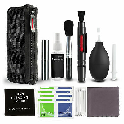 USA 10X Professional Lens Cleaning Cleaner kit for Canon Nikon Sony DSLR Cameras
