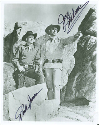 The Range Rider Tv Cast - Autographed Signed Photograph With Co-Signers