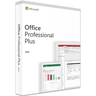 Microsoft Office 2019 Professional Plus Lifetime License Instant Delivery
