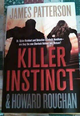 Killer Instinct by James Patterson 2019 Retail Hardcover First Edition