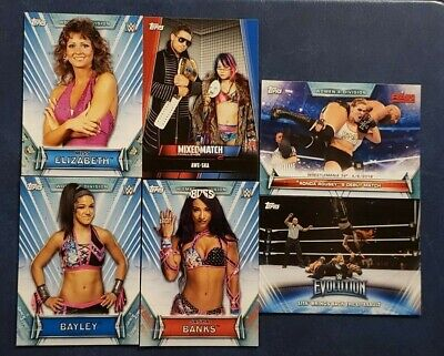 2019 Topps WWE Women's Division 1-100 Evolution Mixed Match Challenge 2 You Pick