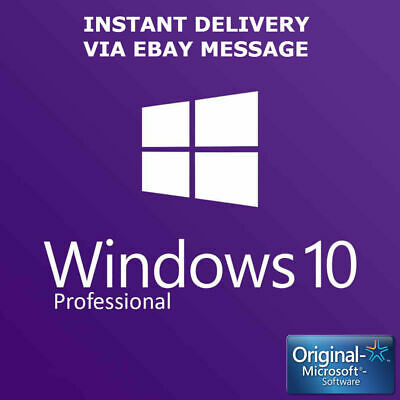 Instant Windows 10 Pro 32 | 64-Bit Gene Acivation Key License Download Link