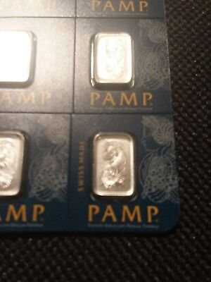 1 Gram Multigram Pamp Suisse Investment Platinum Bar .9995 Pure
