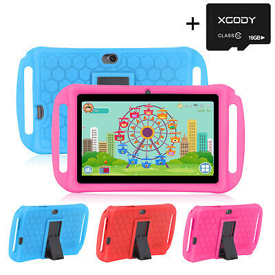 XGODY Android 8.1 16/32GB 7 Inch Tablet PC Quad Core Google WIFI for Kids 2019