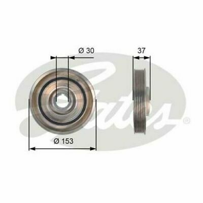 Genuine Gates Crankshaft Crank Pulley TVD1090 NEW