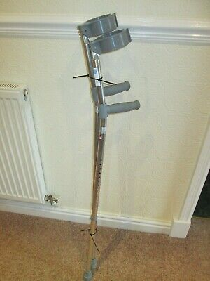 1 Pair  Crutches  Height adjustable Used
