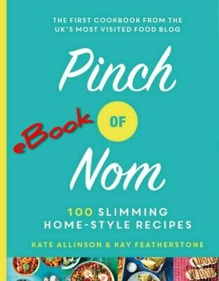 3 Pinch of Nom book PDF's, over 100 Slimming, Home-style Recipes, diet