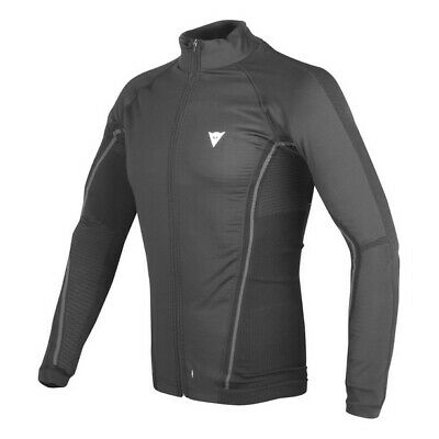 Dainese D-Core NoWind Thermo Tee LS schwarz M