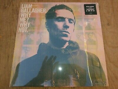 Liam Gallagher Why Me? Why Not? 189 Gram Lp Brand New Sealed