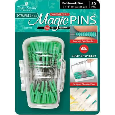Taylor Seville Extra Fine Magic Pins Patchwork 50 With Storage Case