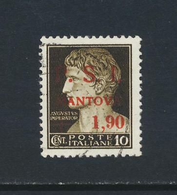 """MANTOVA ITALY NATIONAL LIBERATION COMMITE""""CLN""""1945 5c VF USED (SEE BELOW"""