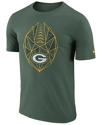 G.B. Packers NFL 2018 Icon Performance Dri-FIT T-Shirt 2XL/Nike/Dark Green/NWT!