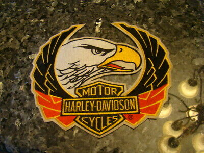 Lot Of 2 Harley Davidson Sew On/Iron on Patch