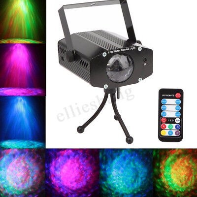 LED Sound-activated Laser Projector Stage Light DJ KTV Disco Xmas Lamp Remote AU