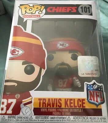 Funko Pop NFL Kansas City Chiefs Travis Kielce #101 W/PoP Protector