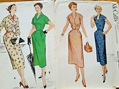 40's B 36 VINTAGE Lot of Sewing Patterns 1940s to 1950s Vogue McCalls Simplicity