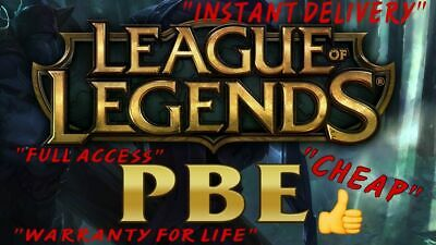 League Of Legends Pbe Account ( Fast Delivery)