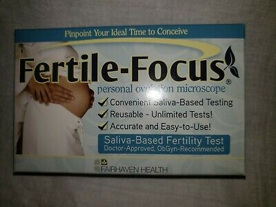 Fairhaven Health Fertile Focus Saliva Ovulation Predictor Monitor Personal Test