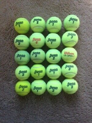 20 Used Tennis Balls - Excellent Condition