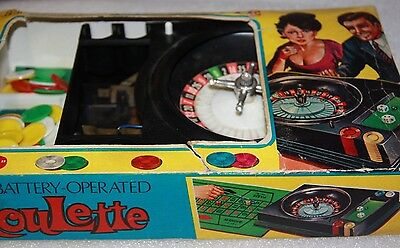 Vintage Roulette by Fortuna vintage toy vintage casino game Roulette wheel toy