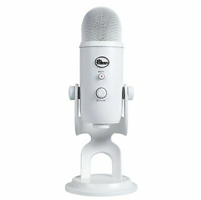 Blue Microphones Yeti USB Microphone, Whiteout