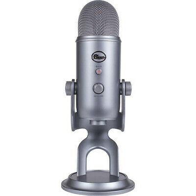Blue Microphones Yeti USB Microphone, Cool Grey
