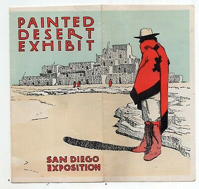 1915 Painted Desert Exhibition Brochure at San Diego Exposition
