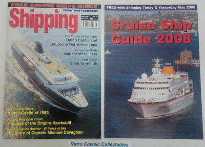 Shipping Today and Yesterday - No.219 - May 2008 - Includes Suppliment