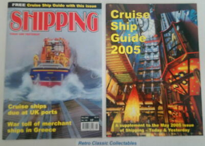 Shipping Today and Yesterday - No.183 - May 2005 - Includes Suppliment